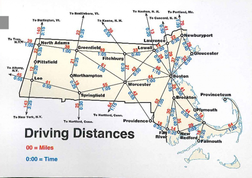 Map Of Massachusetts | Boston Map Pdf | Map Of Massachusetts Towns - Printable Map Of Cambridge Ma