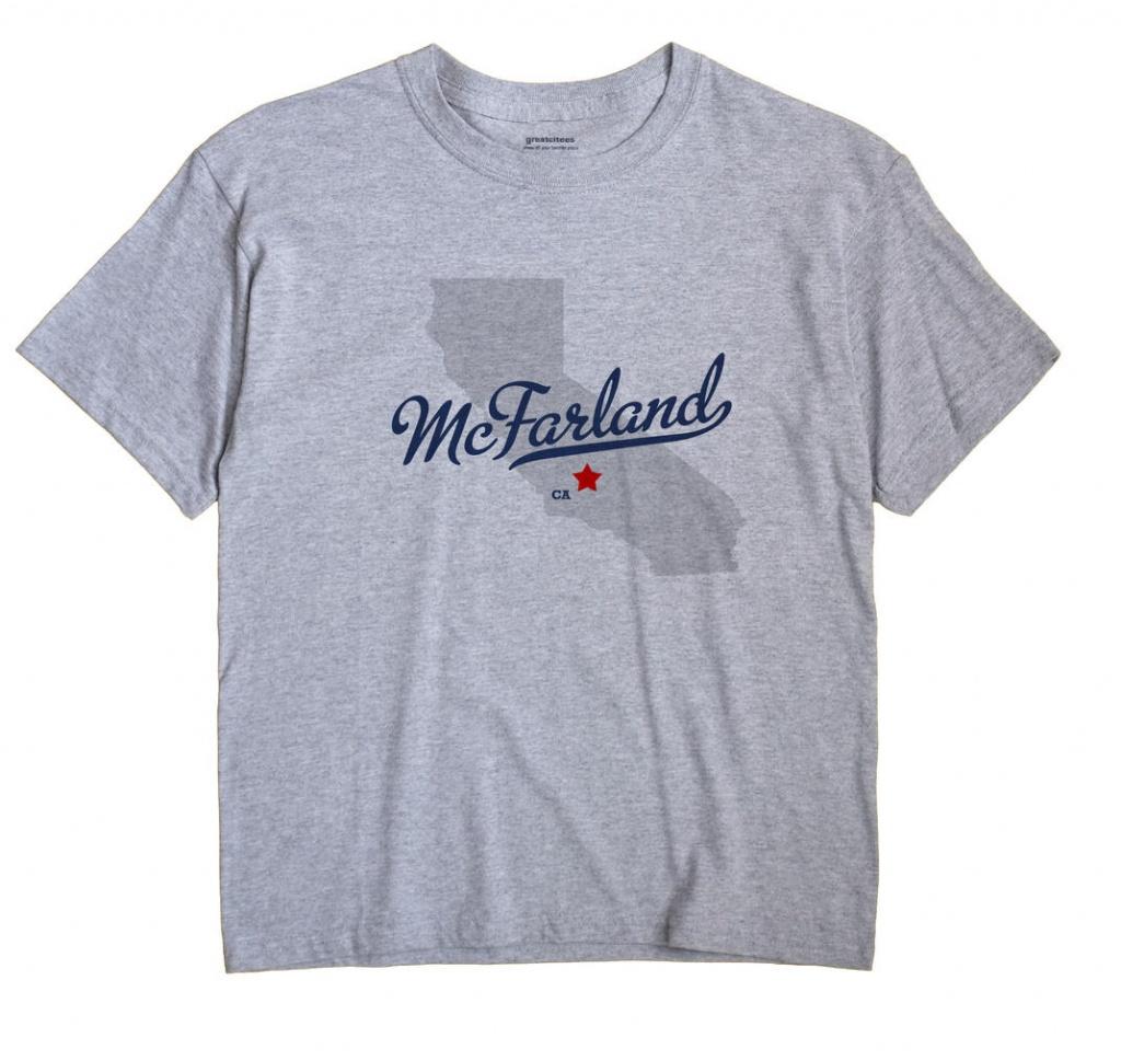 Map Of Mcfarland, Ca, California - Mcfarland California Map