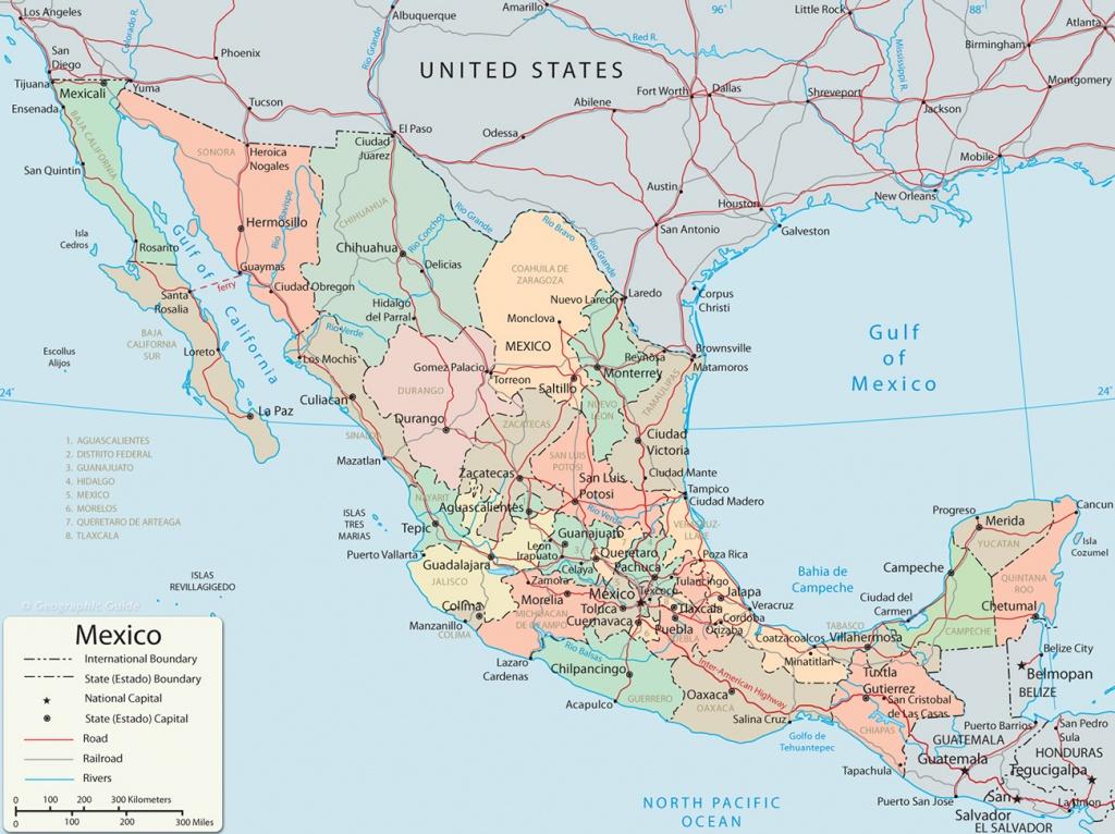Map Of Mexico - Baja California, Cancun, Cabo San Lucas - Map Of Baja California Mexico