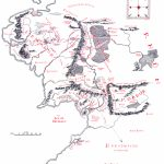 Map Of Middle Earth   J.r.r. Tolkien   Printable Hobbit Map