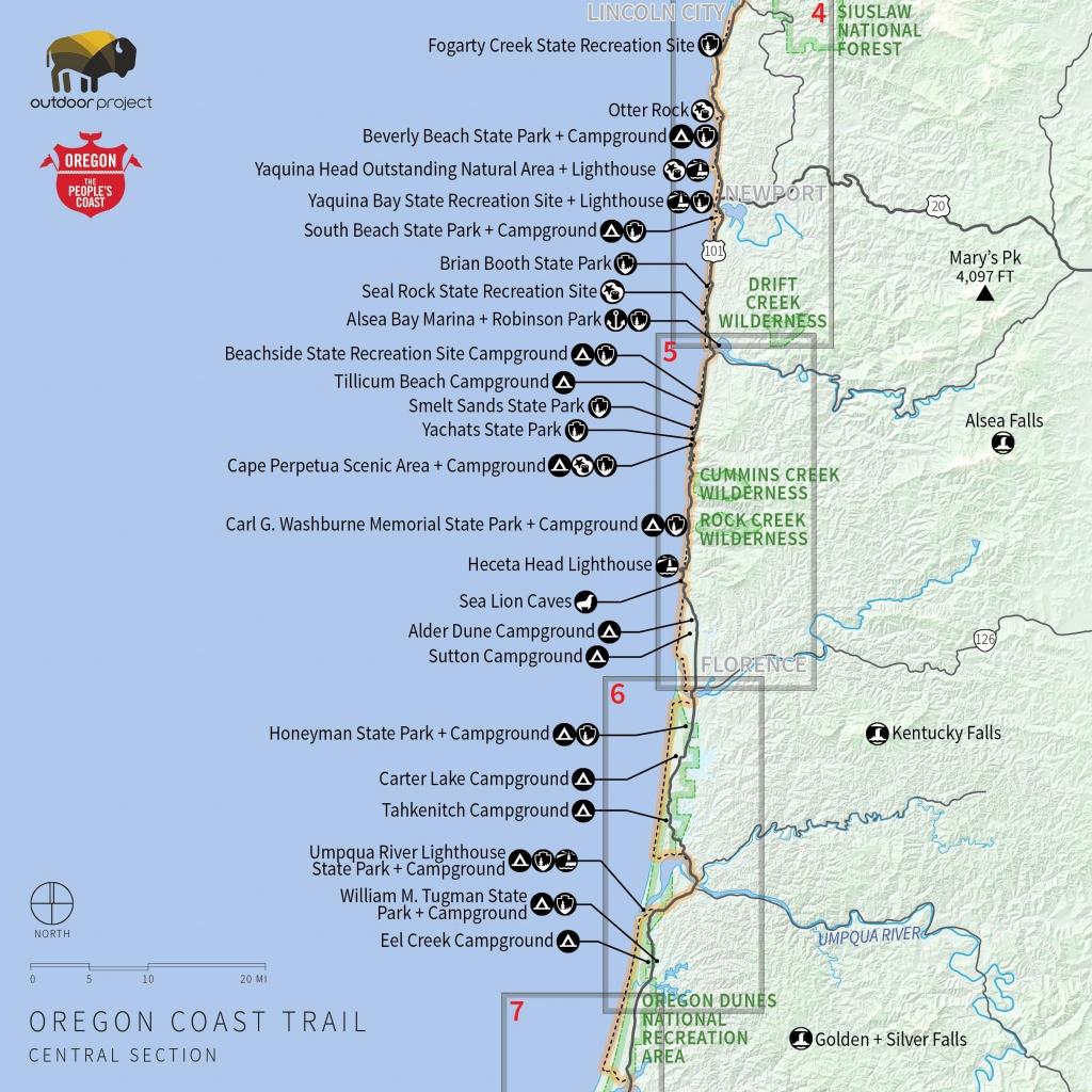 Map Of Northern California Coastal Towns Valid Northern California - Map Of Southern California Coast