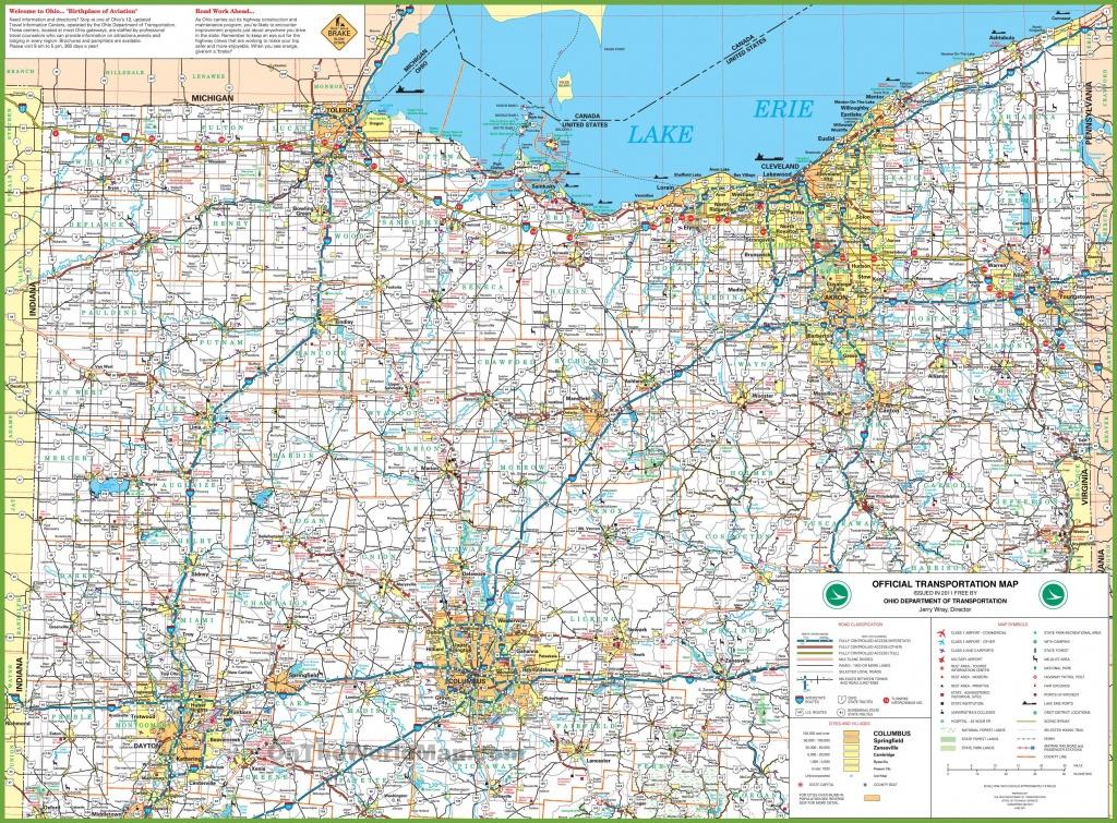 Map Of Northern Ohio - Printable Map Of Ohio