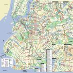 Map Of Nyc Bus: Stations & Lines   Printable Map Of Brooklyn Ny Neighborhoods