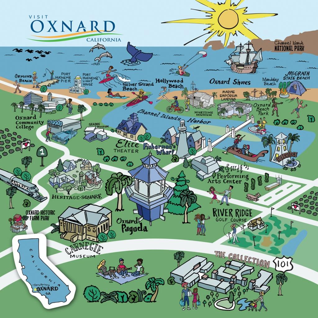 Map Of Oxnard - Find Your Way Around Oxnard And Ventura County - Google Maps Oxnard California