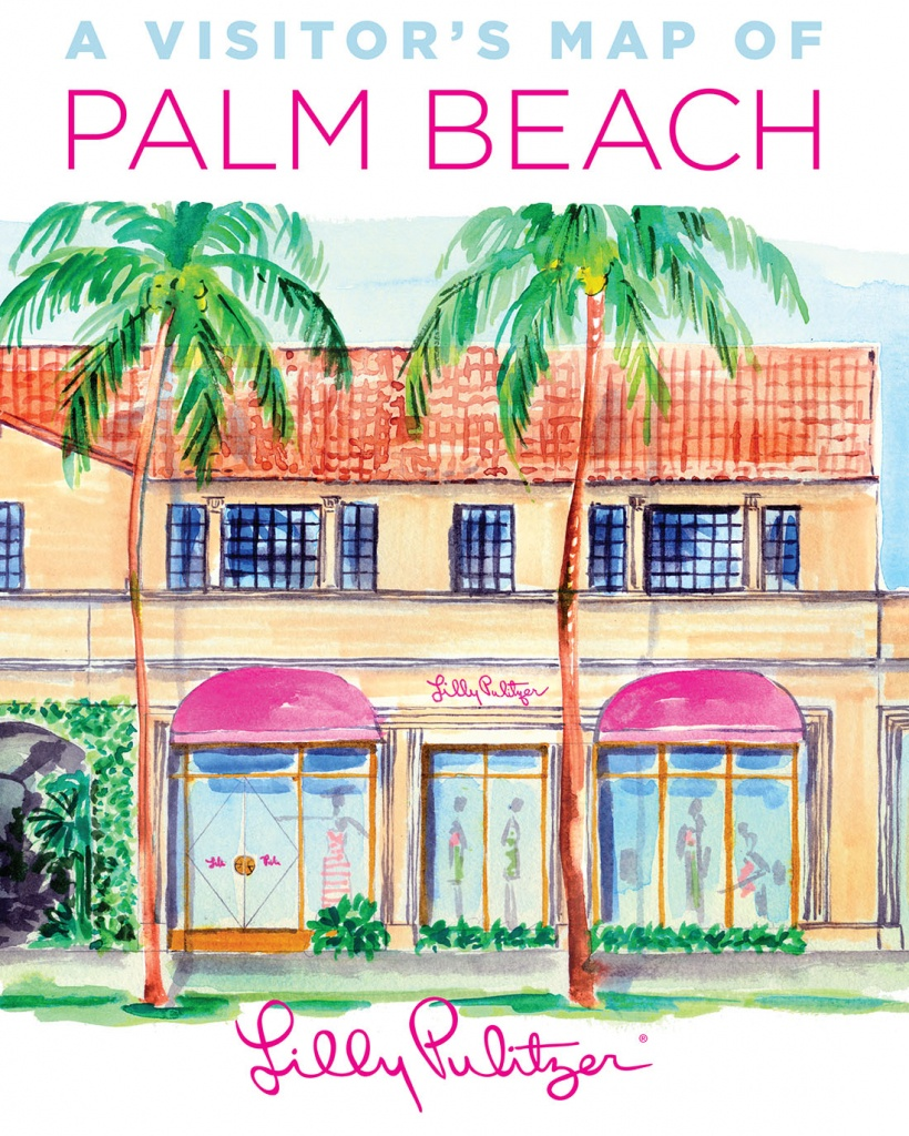 Map Of Palm Beach | Palm Beach Chamber Of Commerce - Palm Beach Florida Map