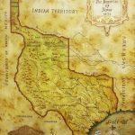 Map Of Republic Of Texas 1836Julius Lira Salazar In 2019 | Texas   Republic Of Texas Map Framed