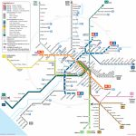 Map Of Rome Subway, Underground & Tube (Metropolitana): Stations & Lines   Printable Rome Metro Map
