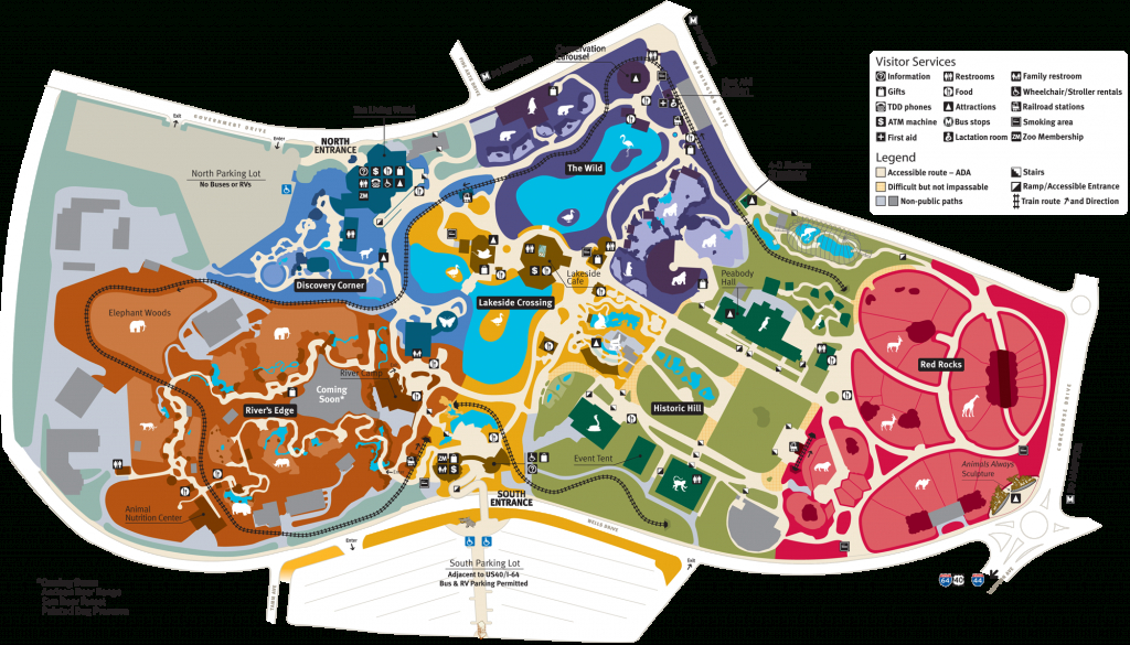 Map Of Saint Louis Zoo In Forest Park | Saint Louis In 2019 | St - Forest Park St Louis Map Printable