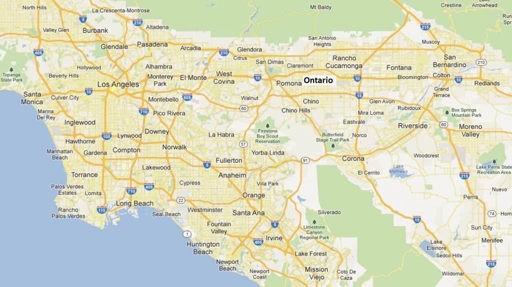 Map Of San Bernardino County Cities – Portal4Travel Regarding Map Of - Map Of Cities In San Bernardino County California