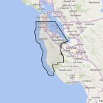Map Of San Mateo County Ca And Travel Information | Download Free   San Mateo California Map