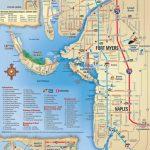 Map Of Sanibel Island Beaches |  Beach, Sanibel, Captiva, Naples   Fort Meyer Florida Map