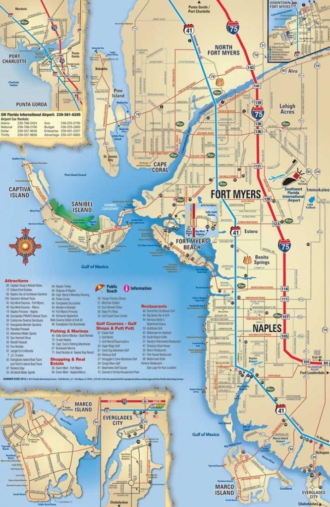 Map Of Sanibel Island Beaches    Beach, Sanibel, Captiva, Naples - Map Of South Gulf Cove Florida