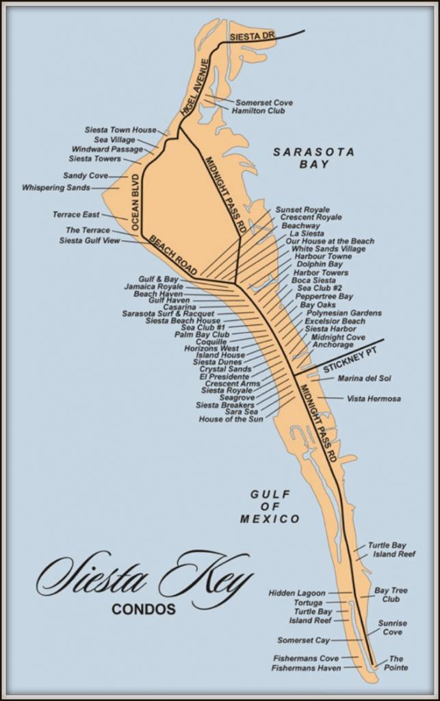 Map Of Siesta Key Florida Condos - Map Of Siesta Key Florida Condos