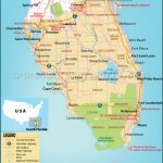 Map Of South Florida, South Florida Map   Highway Map Of South Florida