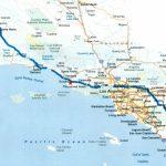 Map Of Southern California Coastal Towns Beautiful Road Map Within   California Coastal Towns Map