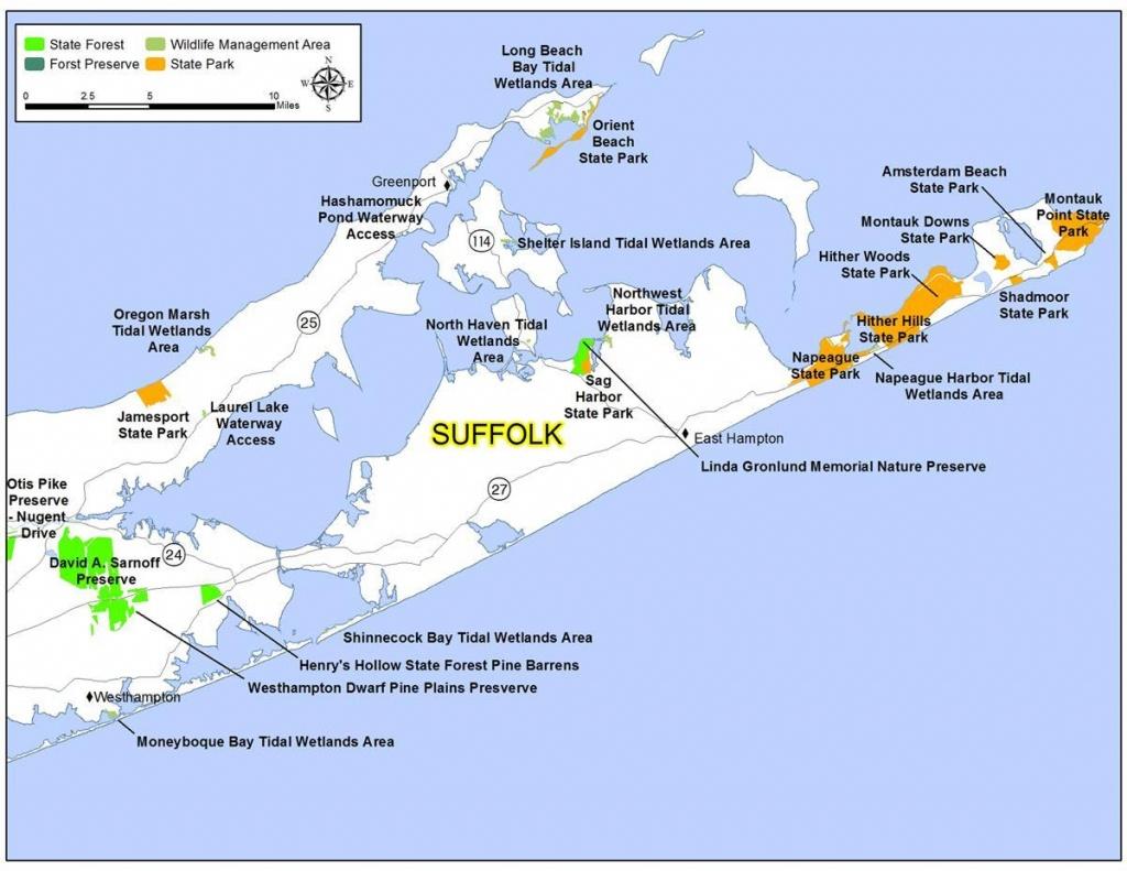 Map Of Suffolk County - Map Of Suffolk County Long Island (New York - Printable Map Of Suffolk County Ny