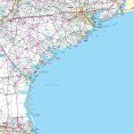 Map Of Texas Coast   Texas Beaches Map