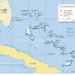 Map Of The Bahamas   Nations Online Project   Map Of Florida And Freeport Bahamas