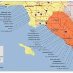 Map Of The Beaches In Southern California – Map Of Usa District – Beach Map Of California