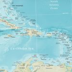 Map Of The Caribbean Region   Free Printable Map Of The Caribbean Islands