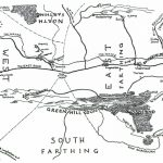 Map Of The Shire   J.r.r. Tolkien   Printable Hobbit Map