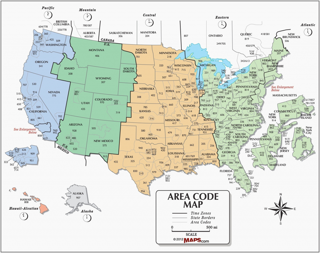Map Of The Us With Time Zones Us Timezones Awesome Printable Us Time - Free Printable Us Timezone Map With State Names