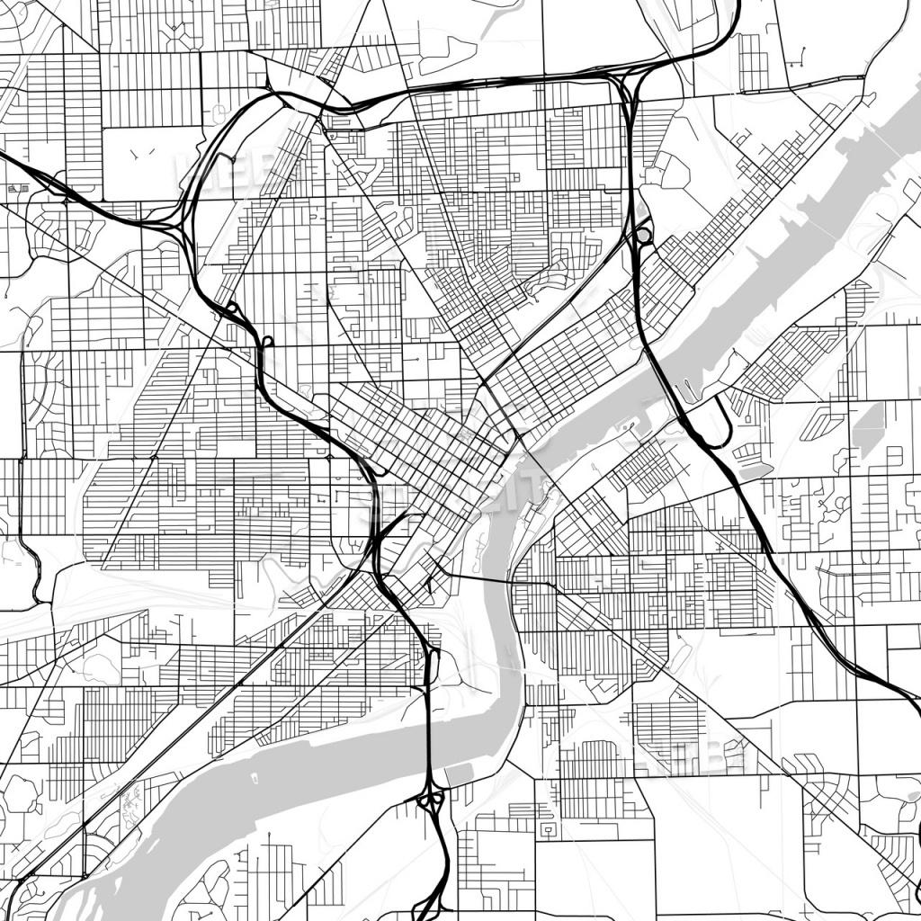 Map Of Toledo, Ohio | Hebstreits Sketches - Printable Map Of Toledo Ohio