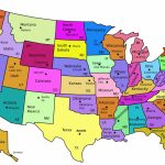 Map Of United States Capitals | Diy United States Magnets - Milk And - Printable Map Of Us Capitals