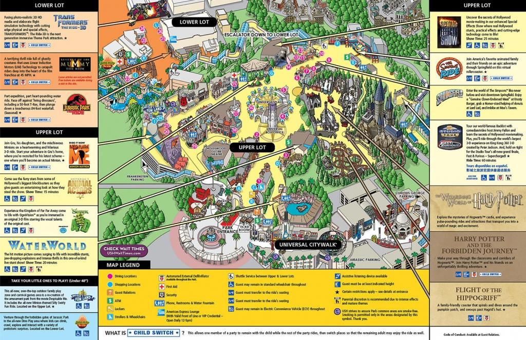 Map Of Universal Studios Hollywood | Compressportnederland - Universal Studios California Map