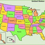 Map Of Us Time Zonesstate Best Of Printable Map United States   Printable Map Of The United States With State Names