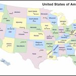 Map Of Usa With Capitals Printable And Travel Information | Download - Printable Map Of Us Capitals