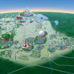 Map Of Walt Disney World Resort   Wdwinfo   Walt Disney Florida Map