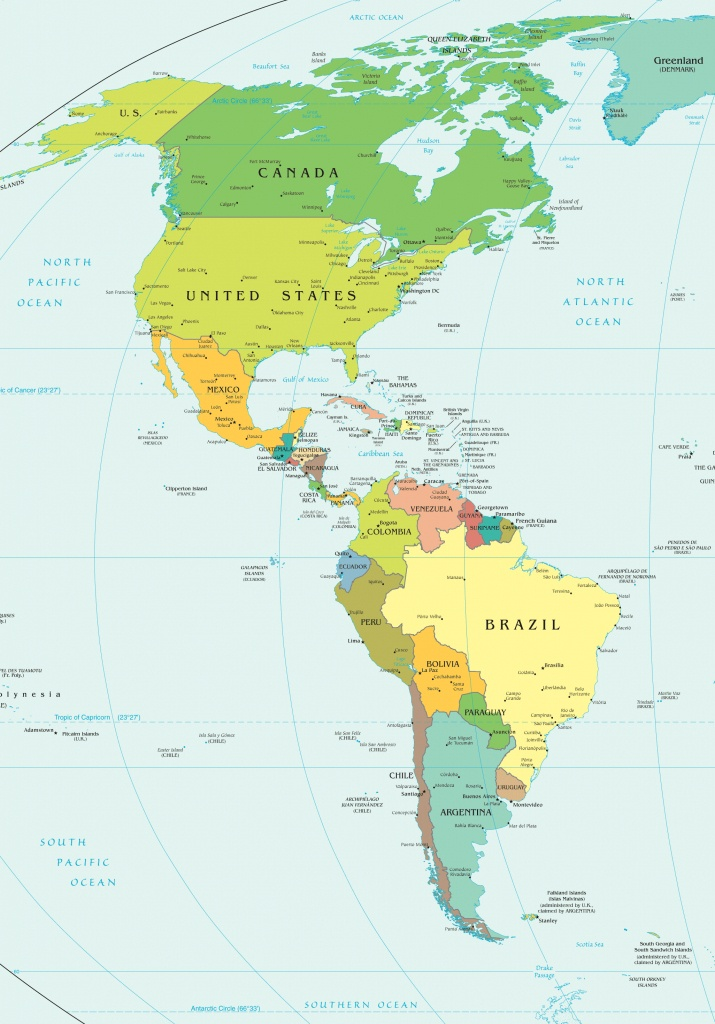 Map Of Western Hemisphere | Sksinternational - Western Hemisphere Map Printable