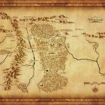 Map Of Wilderland From Cubicle 7   The One Ring In 2019   Middle - Thror's Map Printable