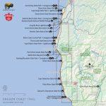 Map Reference. Camping California Coast Map – Reference California   Map Of California Coast Beaches
