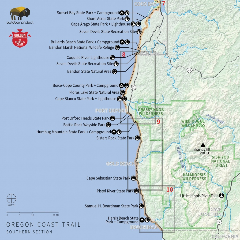 Map Reference. Camping California Coast Map – Reference California - Map Of California Coast Beaches