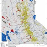 Map Showing Locations Of Historical Gold Mines In The Sierra Nevada   California Gold Claims Map