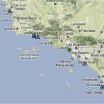 Map Southern California Coast Maps Of California Map Southern Inside   Map Of California Coast Beaches