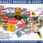 Map: The Biggest Brewery In Every State In America | Vinepair   Florida Brewery Map