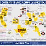 Map: The Companies Who Actually Make Your Beer | Vinepair   California Beer Map