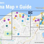 Map: What To Eat And See In Havana, Cuba | Steph And Ben's Travels   Havana City Map Printable