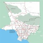 Map_La-Pdf-Los-Angeles-Map-Printable - Los Angeles Freeway Map Printable