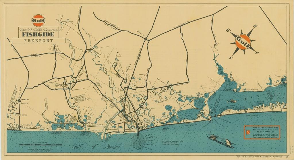 Mapping Texas: The Gulf Coast - Save Texas History - Medium - Texas Gulf Coast Beaches Map