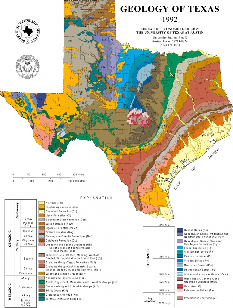 Mapping Texas Then And Now | Jackson School Of Geosciences | The - Texas Geological Survey Maps