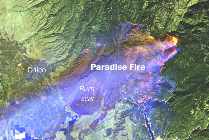 California Fire Damage Map