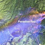 Mapping The Camp And Woolsey Fires In California - Washington Post - Paradise California Map