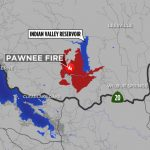 Maps: A Look At The 'pawnee Fire' Burning In Lake County Near   Graton California Map