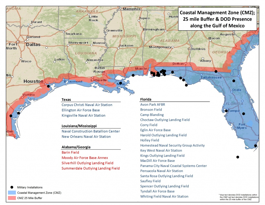Maps | America's Longleaf Restoration Initiative - Alabama Florida Coast Map