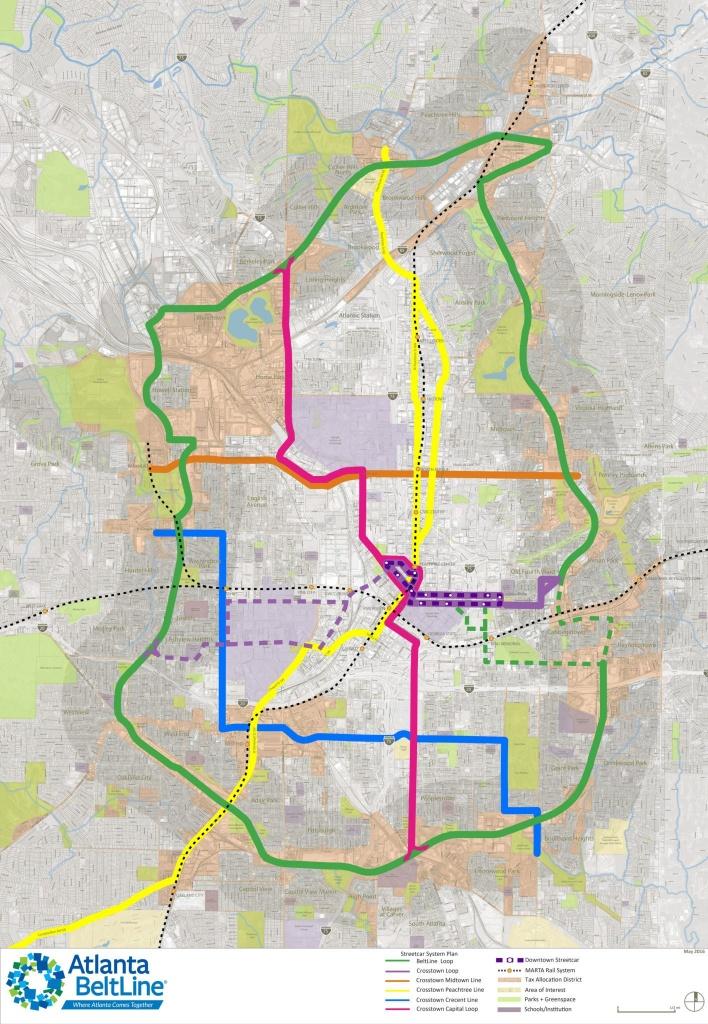 Maps // Atlanta Beltline - Atlanta Zip Code Map Printable