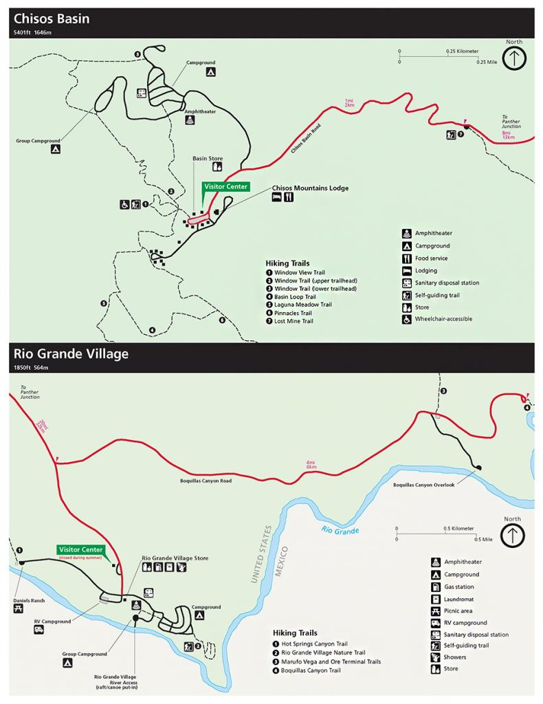 Maps - Big Bend National Park (U.s. National Park Service) - Map Of Big Bend Area Texas